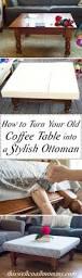 coffee table coffee table ottoman ideas how to make round gorgeous