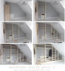 ivar hacks nov 10 wardrobe with reclaimed doors part 1 build in wardrobe