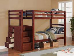 Bunk Bed With Stair Finish With Drawer Stair Bunk Bed Modern Beds Stairs And