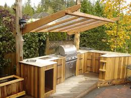 outdoor kitchen roof ideas covered outdoor kitchen plans patio traditional with shelter