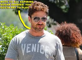 gerard butler out with a mystery woman in nyc u2013 moejackson