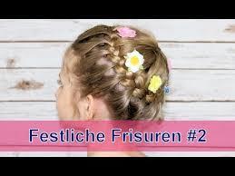 Frisuren Zum Selber Machen F Konfirmation by Festliche Frisuren 2 Hochzeit Blumenmädchen Kommunion