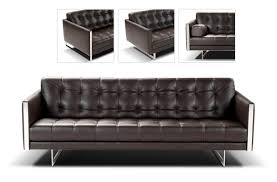 Modern Brown Leather Sofa by Decoration Modern Leather Sofa Home Decor Ideas
