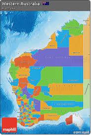 map of australia political free political map of western australia political shades outside