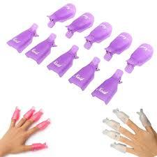 aliexpress com buy sale 10pc plastic nail art soak off cap