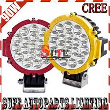 led driving lights for trucks 90w cree led driving light offroad truck tractor 4x4 jeep spot flood