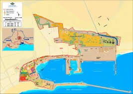 Plano Map Map Of The Accesses Port Authority Of Motril Granada Port Of Spain