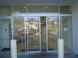 incredible entrance glass door glass door entrance and glass block