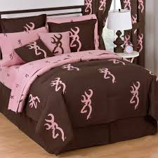 Free Bed Sets Pink And Brown Comforter Sets Browning Buckmark Reversible