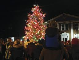 tree lighting makes for special in branchville new jersey