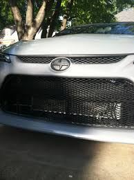 scion tc black mesh grill on scion images tractor service and