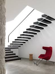 staircase design ideas in big balcony house for young family by