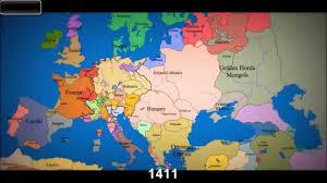 Map Og Map Of Europe Youtube