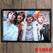 beatles home decor beatles band vintage home decor tin sign classical cinima wall