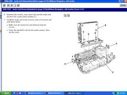 instructions on how to remove the radio for a 2008 honda civic si
