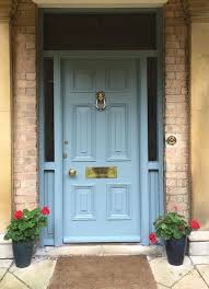 Painting Exterior Door Painted Front Doors Blue Best 25 Ideas On Pinterest Exterior Door