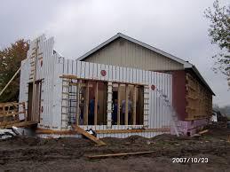 Icf Cabin New Solarium And Mudroom Schoolhouse Energy Retrofit