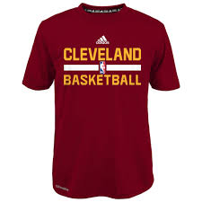 kids cleveland cavaliers apparel cavaliers basketball clothing adidas cleveland cavaliers youth garnet practice wear performance t shirt