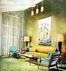 interior home magazine living room 1955 mid century decor vintage interiors and mid