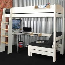High Sleeper With Futon And Desk High Futon Furniture Shop