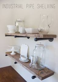 Industrial Bookcase Diy Image Result For Floating Shelves For Barware Decor Pinterest