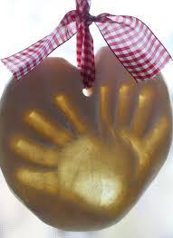 dough handprint ornaments