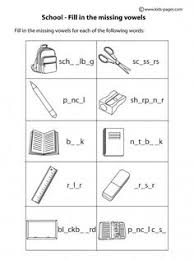 objects matching b u0026w worksheets škola pinterest