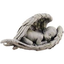 baby in wings garden figure the catholic company
