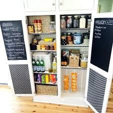 kitchen cabinet pantries pantry cabinet design creative chalkboard