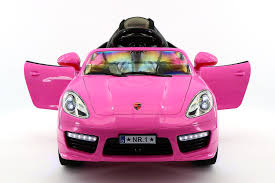 pink porsche convertible moderno kids electric ride on cars for kids