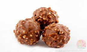 chocolate salty balls stay at home
