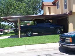 attached two post custom two car carport south san antonio