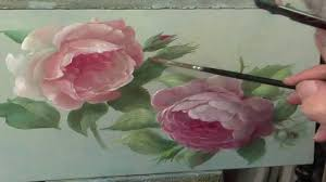 how to paint a rose youtube