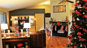 House Home Decorating by Christmas House Tour Youtube