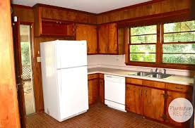 Kitchen Cabinets Before And After Flip House 1960s Kitchen Before And After A Major Kitchen