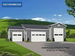 rv home plans garage plan 2264 rv g gable house plans by garrell associates