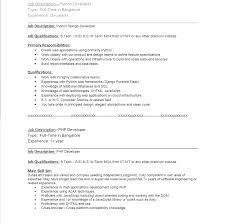 Php Developer Resume Hiringstack