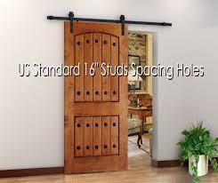 Vintage Sliding Barn Door Hardware by 78 7