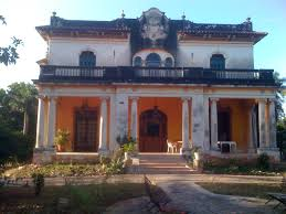 this is one of the haunted mansions in merida mexico there are
