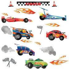 Car Room Decor Race Car Room Decor Amazon Com