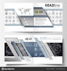 business templates for square bi fold brochure magazine flyer