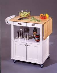 mainstays kitchen island cart crosley white kitchen cart with stainless steel top kf30002ewh