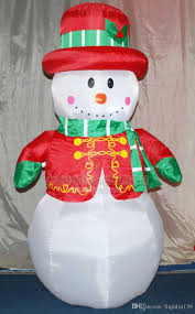 1 8m 6ft large outdoor snowman decorations
