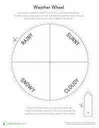 weather wheel preschool weather weather seasons and science