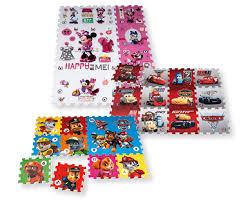 tappeto puzzle disney tappeto puzzle per bambini 12 pezzi paw patrol disney minnie cars