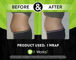 it works body wraps before and after the ultimate body applicator