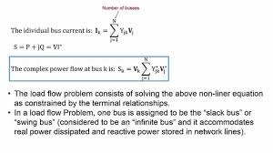 power flow analysis part i youtube