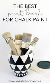 can i use chalk paint to paint my kitchen cabinets best paint brush for chalk paint a chip brush my breezy room