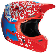 motocross fox fox downhill helmet fox rampage comp imperial black blue helmet