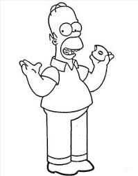 homer simpson coloring pages coloring pages ideas u0026 reviews
